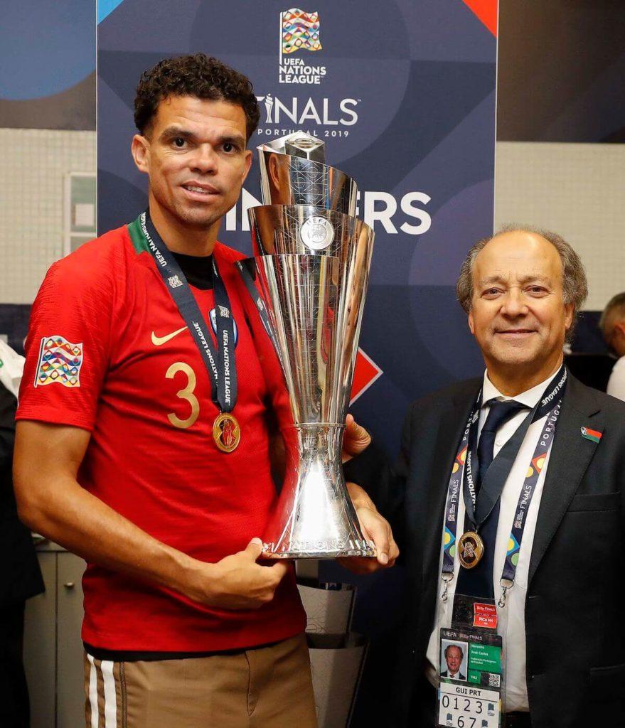 José Noronha e Pepe - taça das nações 2019